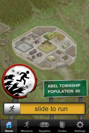 'Zombies, Run!' screenshot