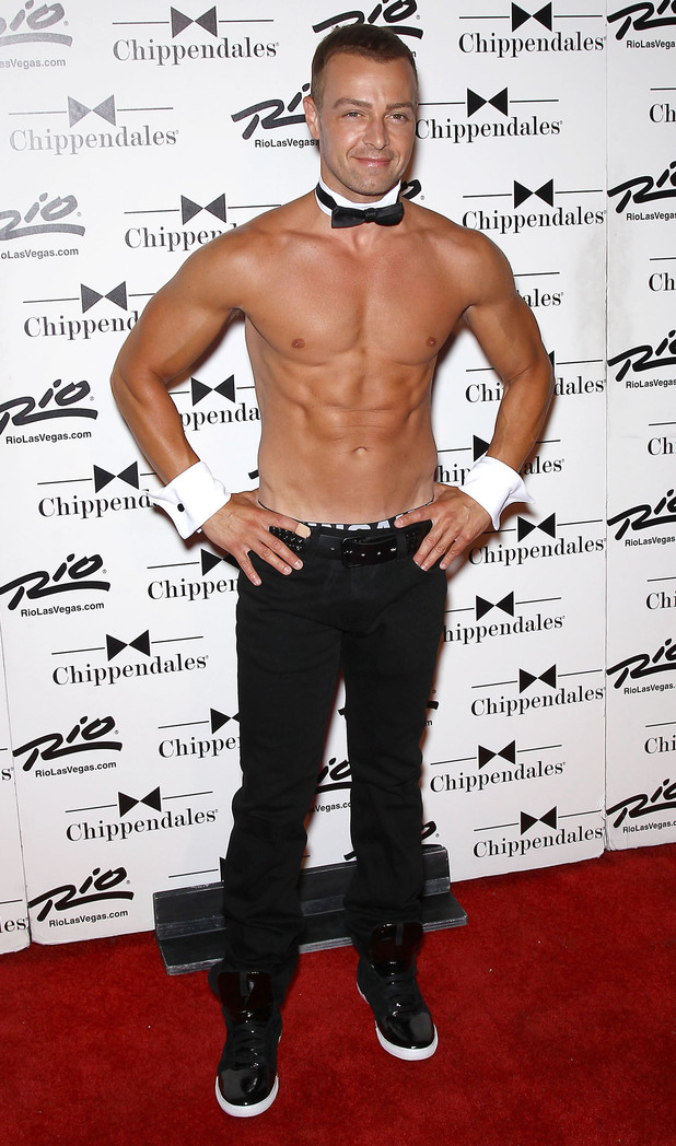 Joey Lawrence The Chippendales welcome new guest star Joey Lawrence at the Rio All-Suite Hotel and Casino Las Vegas, Nevada