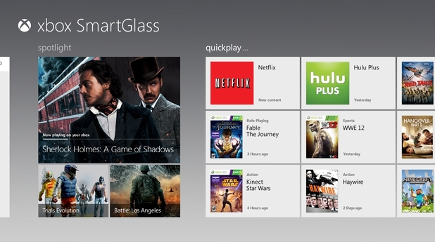 Xbox SmartGlass