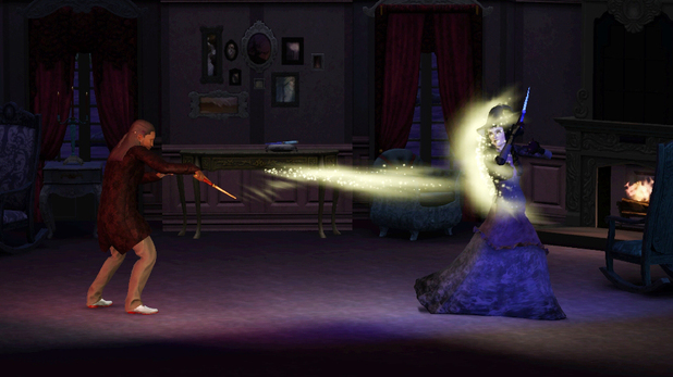 The Sims 3: Supernatural screenshots