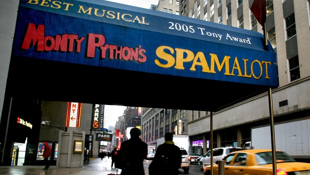 Spamalot Broadway