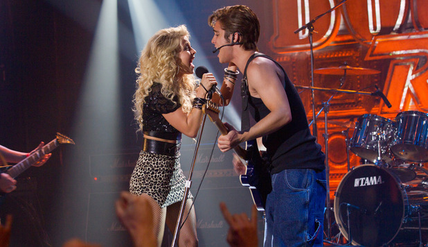 Julianne Hough and Diego Boneta in &#39;Rock of Ages&#39;