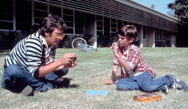 Steven Spielberg and Henry Thomas