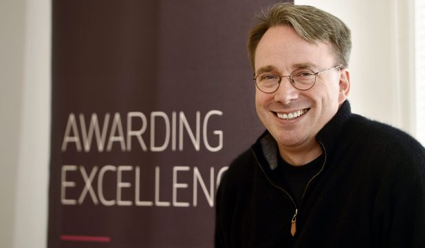 Linus Torvalds, creator of a new open source operating system for computers leading to the widely used Linux kernel and laureate of the 2012 Millennium Technology Prize