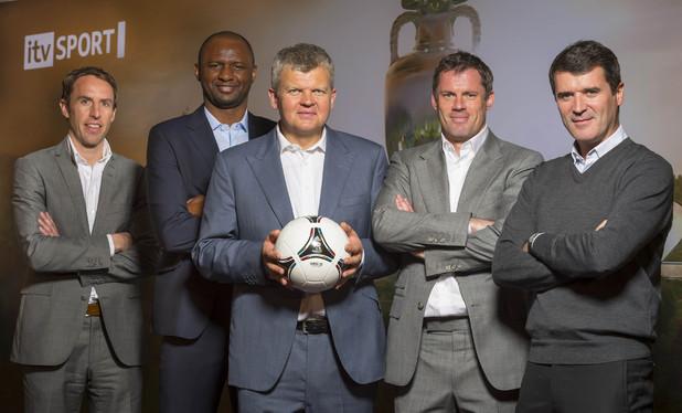 Euro 2012 ITV presenter team