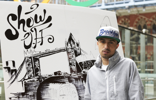 Adam Deacon launches the somewhereto_ show off competition