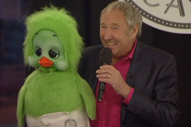 Keith Harris and Orville in the Big Brother house