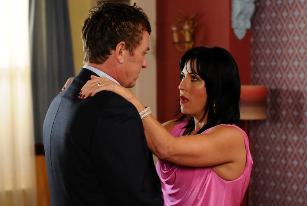 Alfie Moon assures Kat Moon that everything will be okay