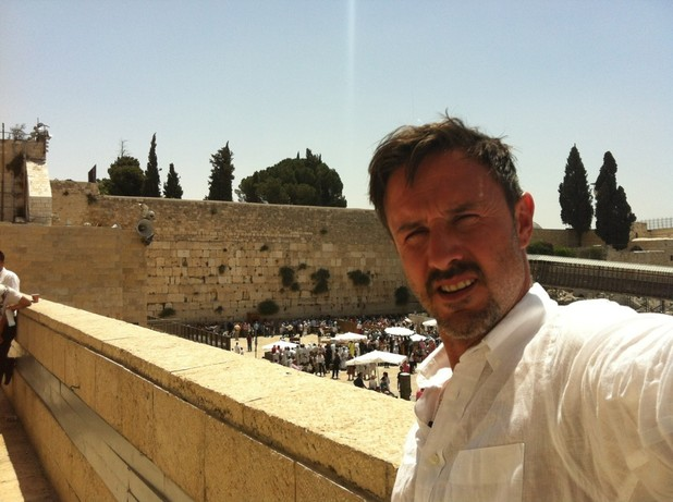 David Arquette in Israel