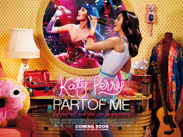 Katy Perry &#39;Part of Me&#39; film poster