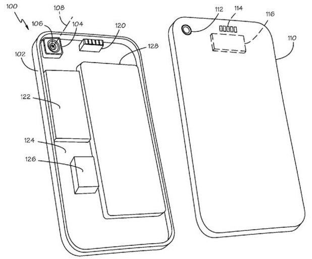 Apple patents 'swapable' iPhone lens system
