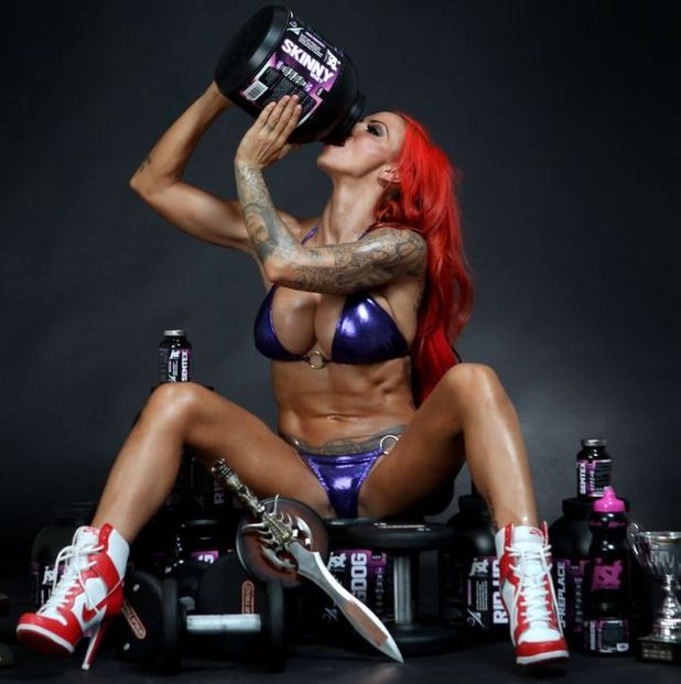 Jodie Marsh launches her 'Just Jodie' website.