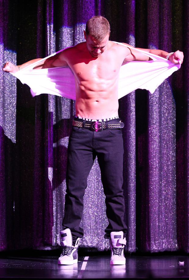 Joey Lawrence The Chippendales welcome new guest star Joey Lawrence at the Rio All-Suite Hotel and Casino - Show Las Vegas