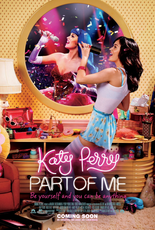 Katy Perry 'Part of Me' film poster