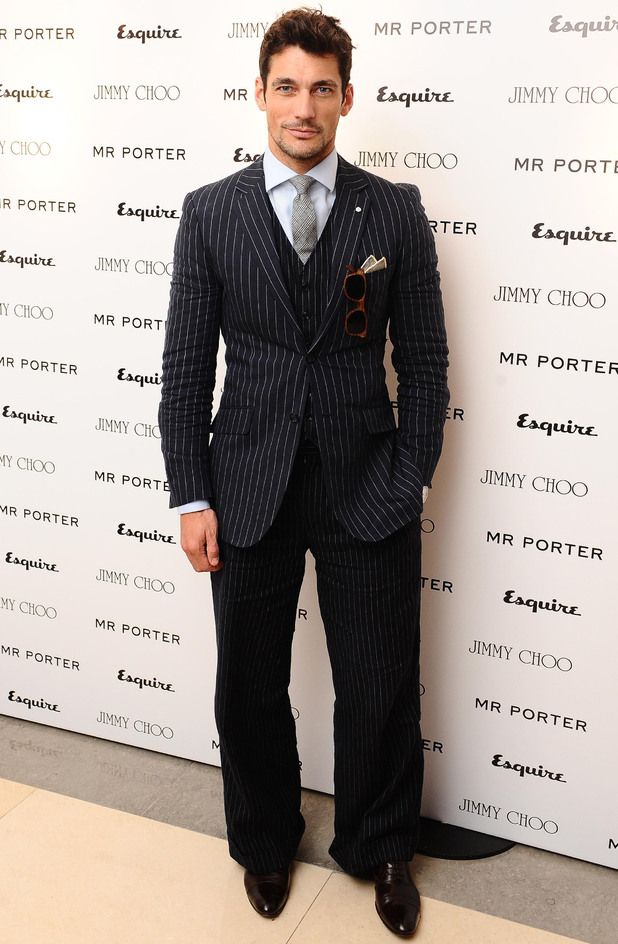 Esquire & Mr Porter London Collections: David Gandy