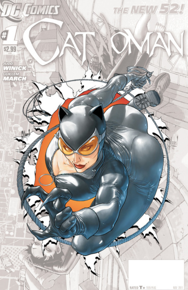 'Catwoman' #0 racy cover design draws criticism - Comics ...