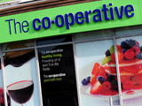 A general view of a Co-operative food shop
