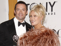 Actor's wife Deborra-Lee Furness surprises him by presenting honor.