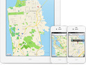Users report misplaced towns and cities in the Google Maps rival.
