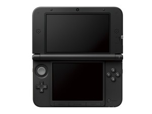 Nintendo 3DS XL in black