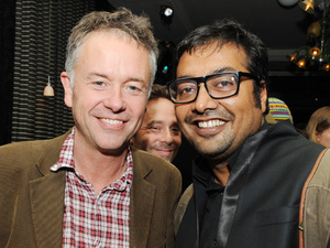 Michael Winterbottom & Anurag Kashyap during the London India Film Festival 2012