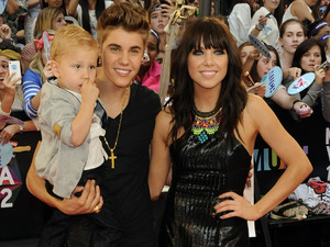 Jaxon Bieber, Justin Bieber and Carly Rae Jepsen
