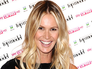 Elle MacPherson at the launch of Britain and Ireland's Next Top Model at Claridges Hotel in London