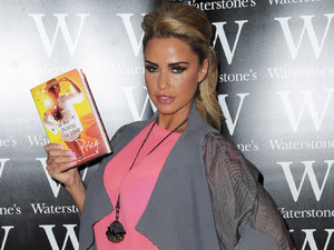 Katie Price attends her book signing at The Trafford Centre in Manchester.