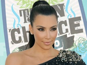 Kim Kardashian at the 2012 Teen Choice Awards