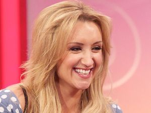 Catherine Tyldesley appears on 'Lorraine Live'