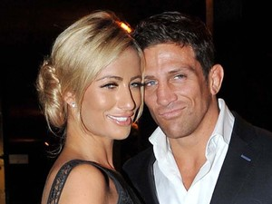Chantelle Houghon and Alex Reid arrive at the RTE studios for The Saturday Night Show Dublin, Ireland
