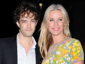 Denise Van Outen and Lee Mead Sir Richard Branson's Pre-Wimbledon Party held at The Roof Gardens - Outside departures. London, England