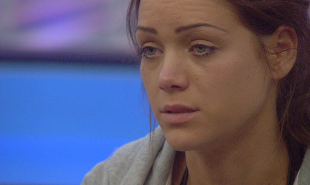 Big Brother 2012 Day 14: Sara crying