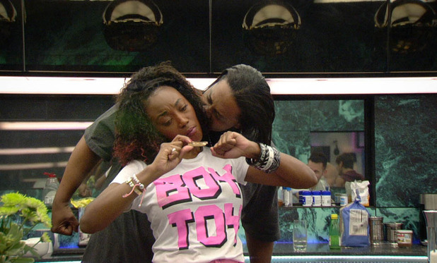 Big Brother 2012 Day 14: Shievonne and Adam