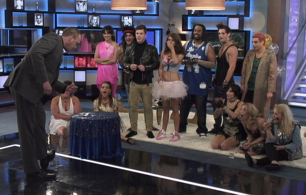 Big Brother Day 19: Housemates watch some magic.