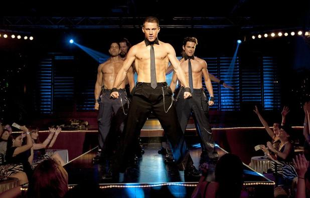 Magic Mike Channing Tatum strips