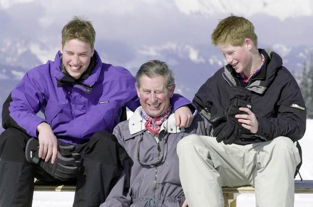 Prince William, Prince Charles, Prince Harry