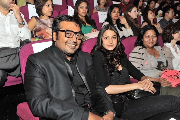 Anurag Kashyap & Anushka Sharma during the London India Film Festival 2012