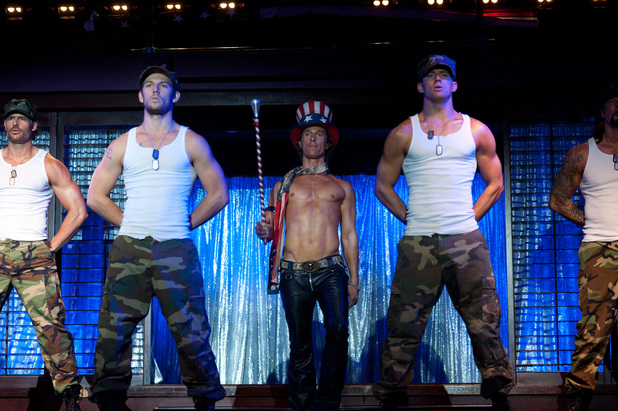 Magic Mike Joe Manganiello Alex Pettyfer Channing Tatum Matthew McConaughey