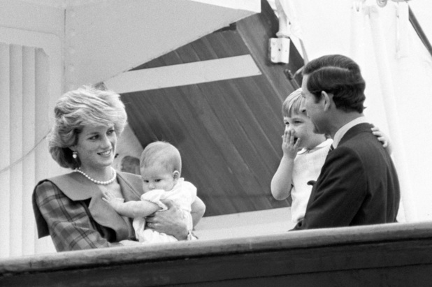 Princess Diana, Prince Harry, Prince William, Prince Charles