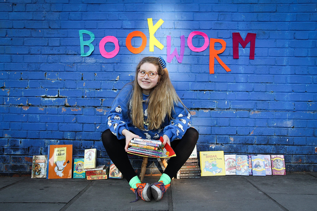 Jessie Cave and Bookworm