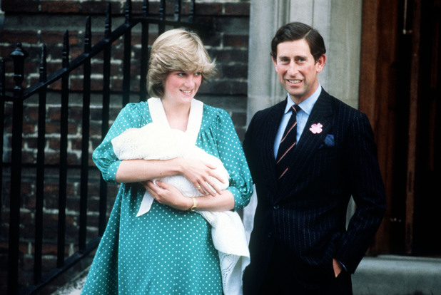 Princess Diana, Prince Charles, Prince William