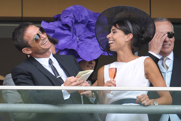 Frank Lampard, Christine Bleakley, 2012 Ascot