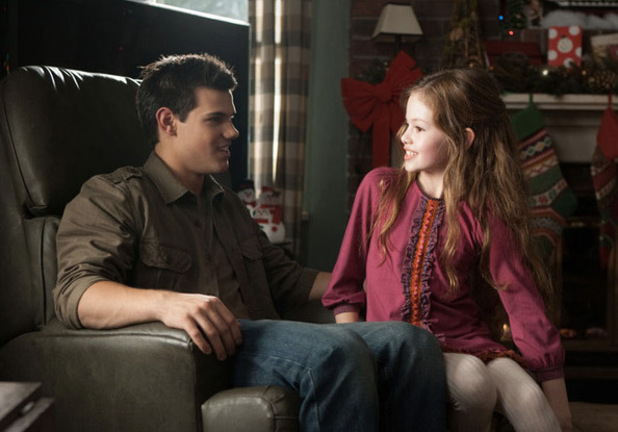 Twilight: Breaking Dawn - Part 2 Taylor Lautner Mackenzie Foy