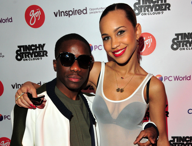 Amanda Reifer with Tinchy Stryder