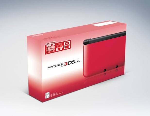 Nintendo 3DS XL packaging