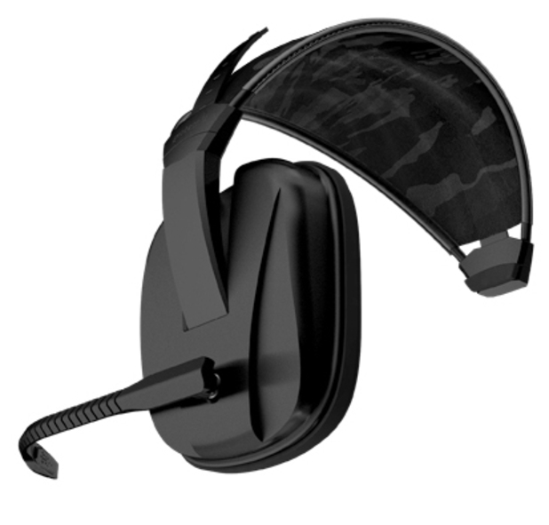 Gioteck Peripherals: EX-05 lite military-style headsets.