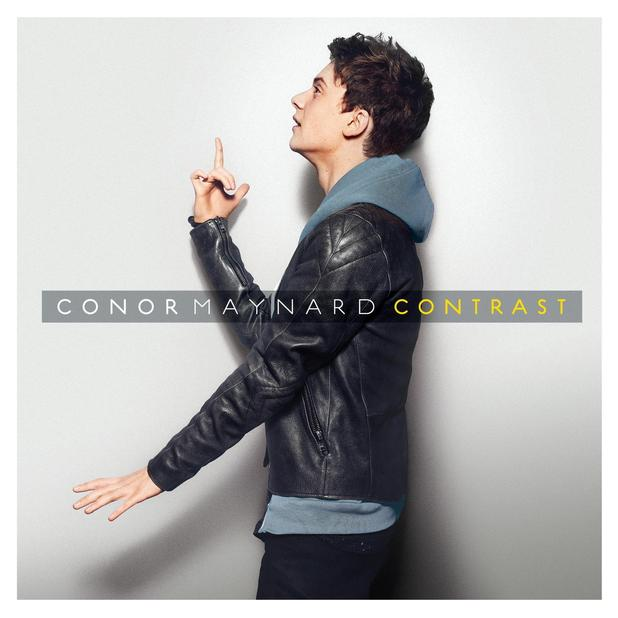 Conor Maynard 'Contrast' artwork.