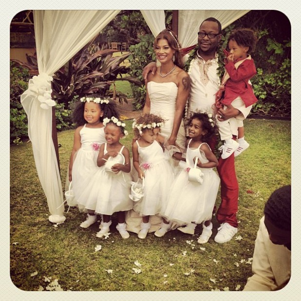 Bobby Brown Instagram wedding picture