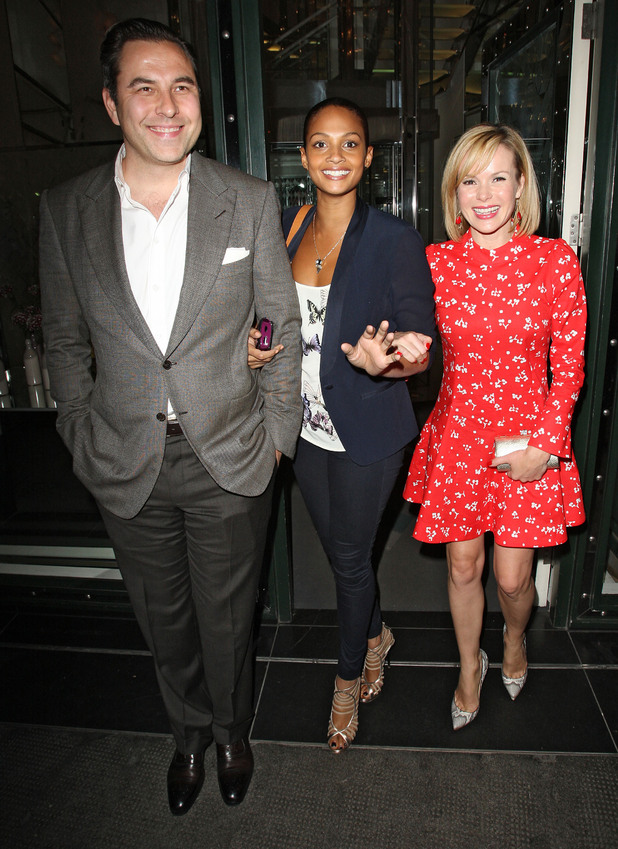 David Walliams, Alesha Dixon and Amanda Holden